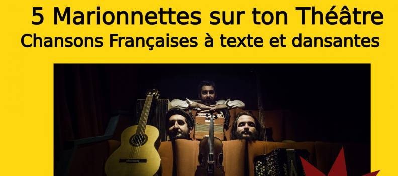 5 Marionnettes sur ton Théâtre – Concert du 20/02/2018