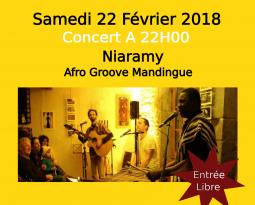 Niaramy – Concert du 22 Février 2018