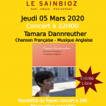 Concert 050320 Tamara Dannreuther - 291118