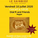 Concert 100720 Disk'r - 260620