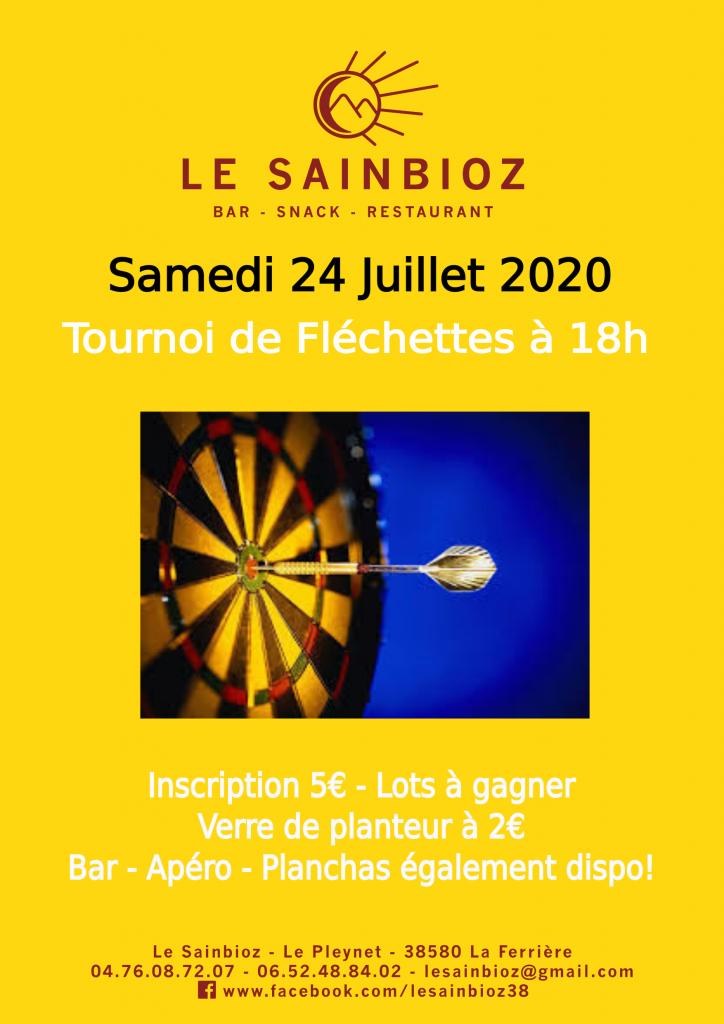 Tournoi de Fléchettes 240720 - 260620