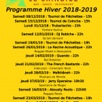 Concerts Sainbioz Hiver 2018-2019