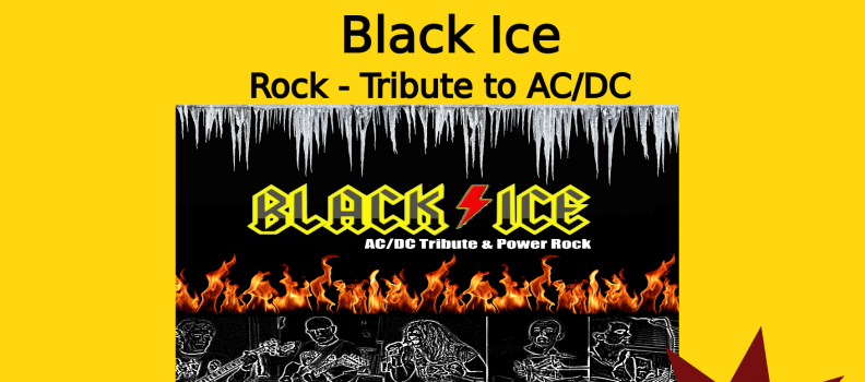 Black Ice – Rock / Tribute to AC/DC Concert le 14/02/2020
