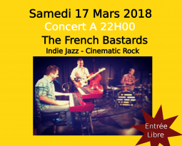 The French Bastards – Concert du 17/03/2018