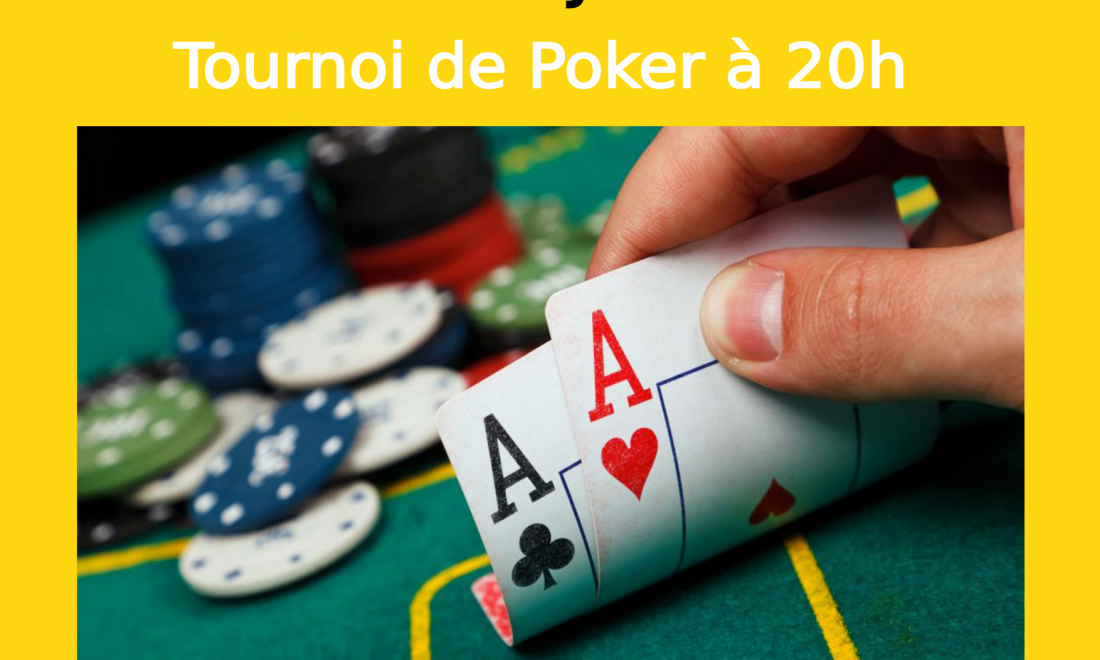 Tournoi de Poker le 03/07/20